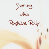 Sharing With Positive Polly Blog Button